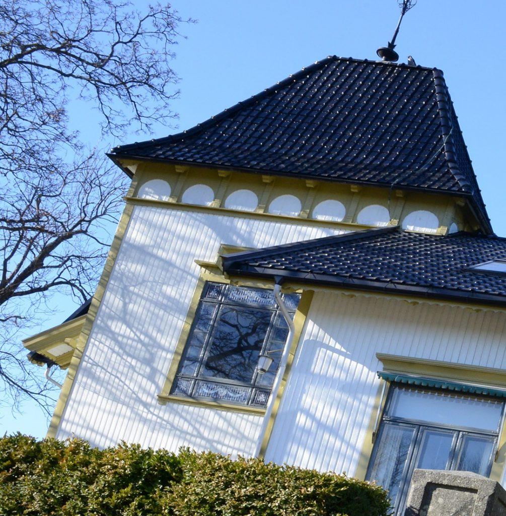 Et riktig gammelt signalbygg i Tønsberg
